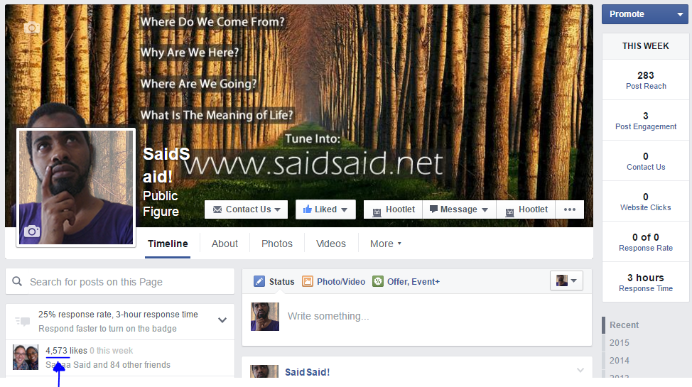 Dr.SaidSaid Facebook Page