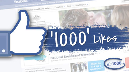 Wafuasi 1000 Wa Facebook