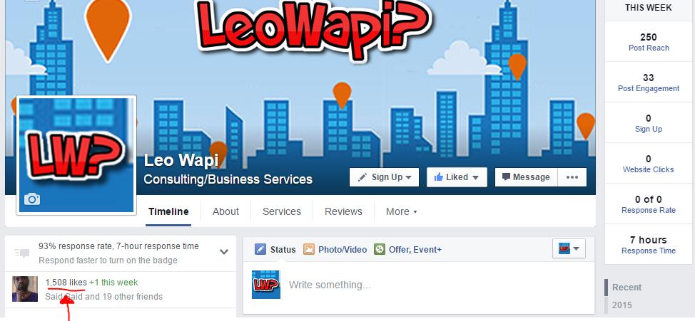 leowapi facebook page